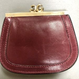 """Vintage Gucci GG Coin Purse """"Authentic"""""""